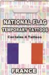 France Country Flag Tattoos.